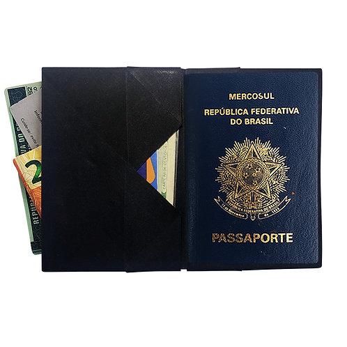 Porta Passaporte-Preto_Liso MM74