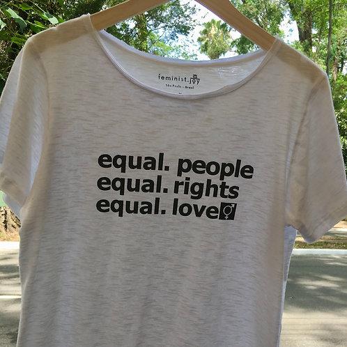 Camiseta equal people  MM69