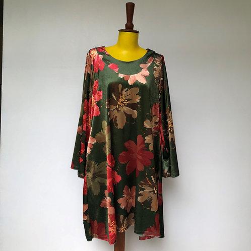 Vestido Trapézio Floral MM98