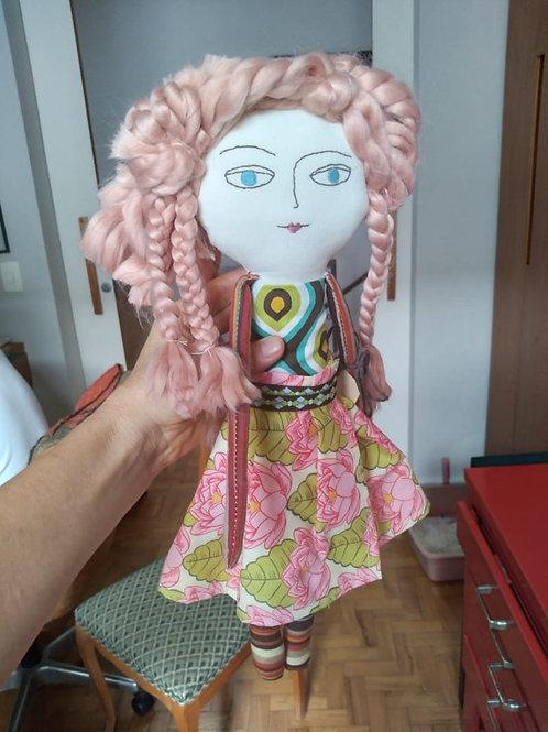 Boneca de Pano Lia  MM77
