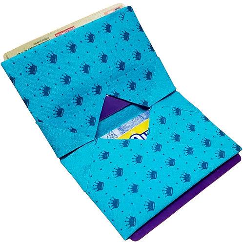 Carteira Azul Tiffany_Coroas MM74