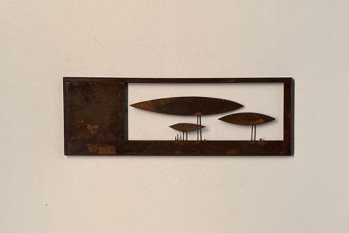 Escultura de parede  - 006 A
