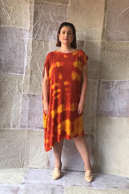 Vestido Drapê Lateral