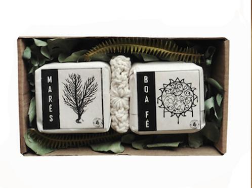 Caixa de Sabonetes Duo  Marés e Boa Fé MM14