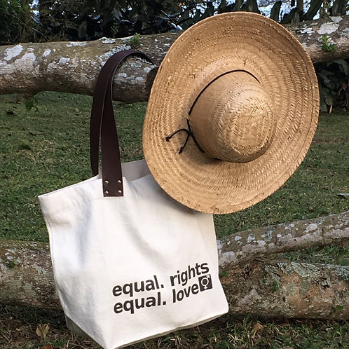 BOLSA - ECO BAG ALÇA COURO EQUAL.RIGHTS  MM69