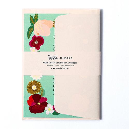 Cartão Felicitações Set 3 MM73