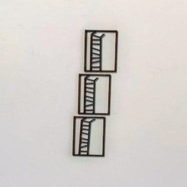 Escultura de parede individual - 0021