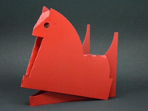 Escultura Cavalinho  em aço carbono MM67