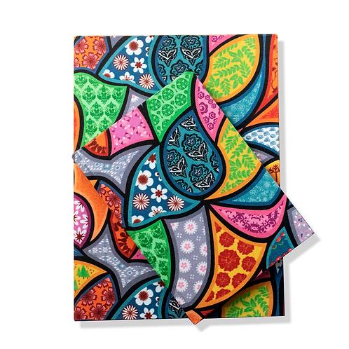 Caderno Retalhos MM85