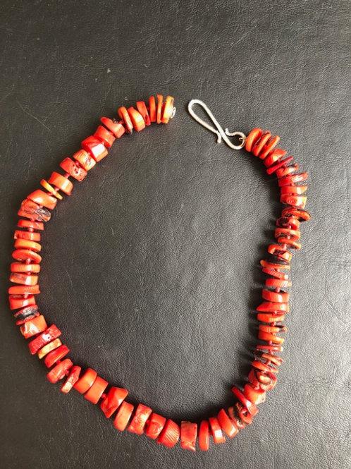 Colar coral Vermelho MM27