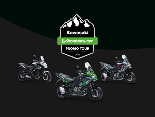 Kawasaki Versys Promo Tour 2021 - 11 en 12 juni