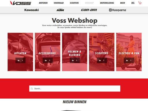 Vos Oss Motoren start webwinkel!