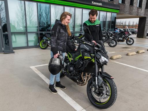 Kawasaki Benelux en MotoShare lanceren Kawasaki Rent