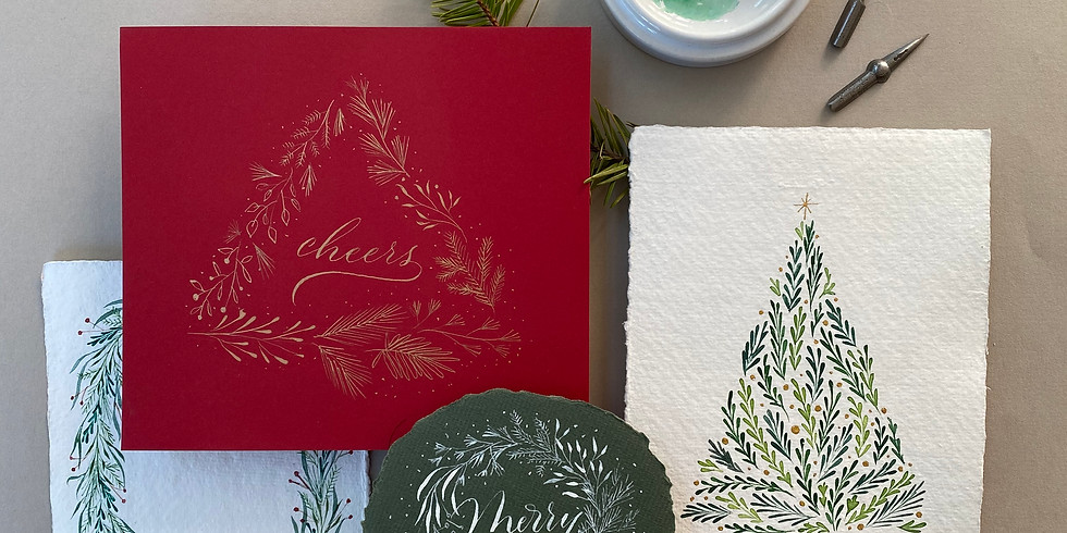 ONLINE LIVE CLASS - Holiday Wreaths - DEC 13th