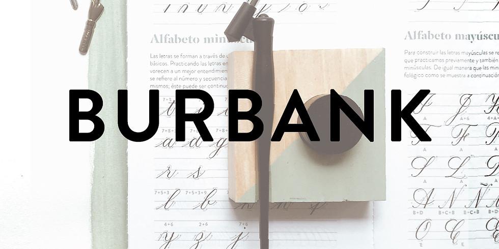 BURBANK, CA - Intro to Copperplate Calligraphy - FEB 9