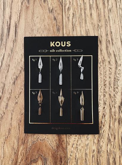 Kit de plumillas vintage 1