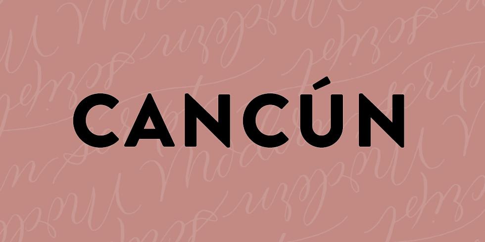 CANCÚN - CALIGRAFÍA MODERNA / Sketching Primaveral - 17 de MARZO (1)