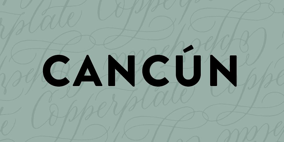 CANCUN - CALIGRAFÍA MODERNA / Sketching Primaveral - 8 de MARZO