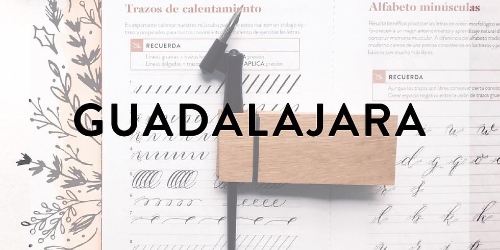 GUADALAJARA - CALIGRAFÍA COPPERPLATE - 26 de NOVIEMBRE