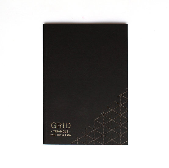 Notebook Grid Triangle