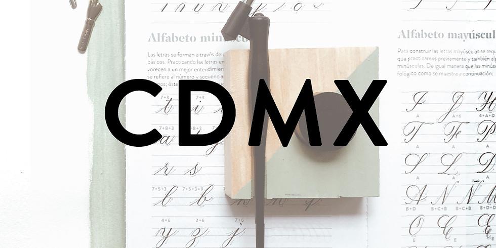 CDMX - CALIGRAFÍA COPPERPLATE (INTRO) - 11 de NOVIEMBRE