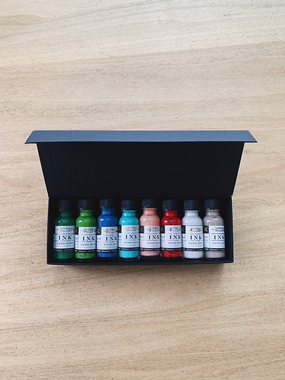 Set tintas de color