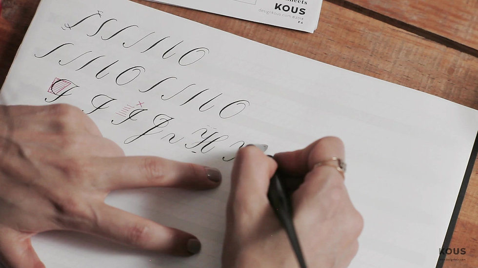 Copperplate Calligraphy Online Workshop