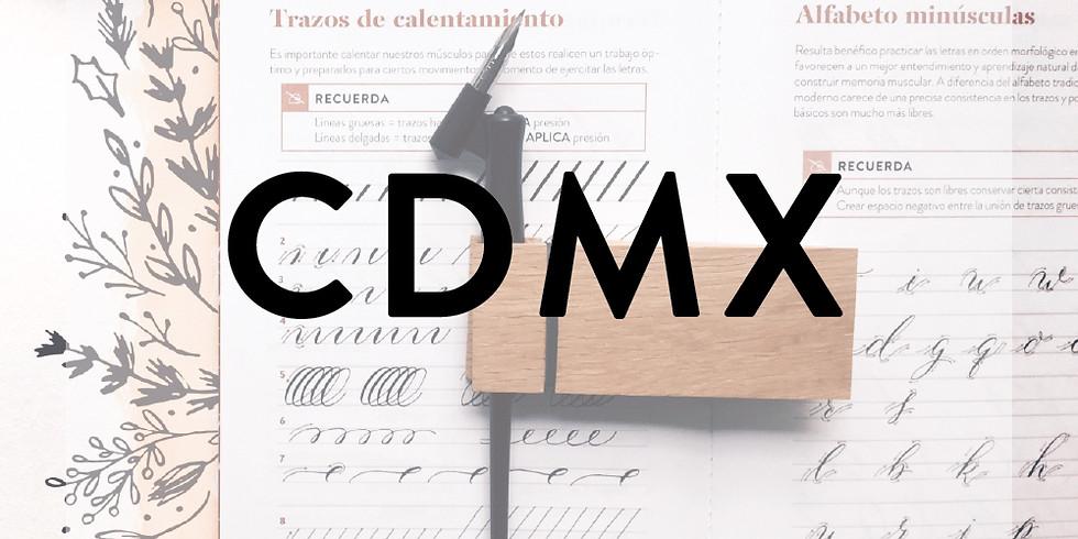 CDMX - CALIGRAFÍA MODERNA / Sketching Navideño- 13 de NOVIEMBRE