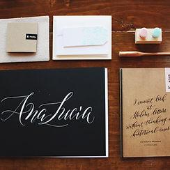 Caligrafía Moderna / Modern Calligraphy