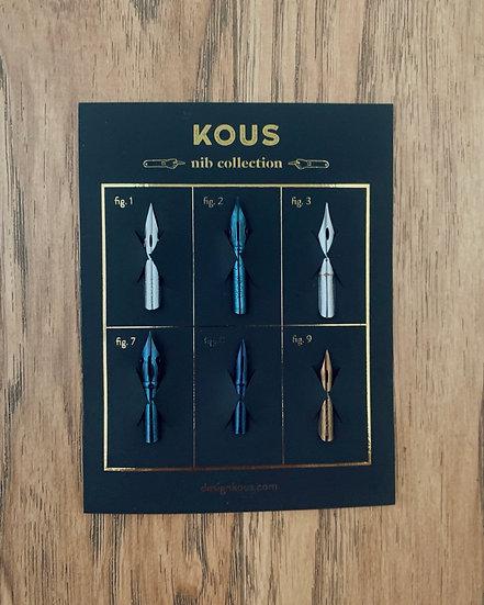 Kit básico de plumillas - Beginners