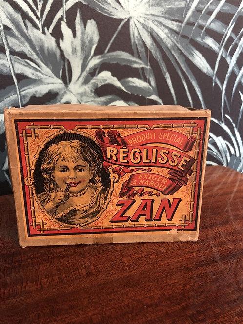 Boîte Réglisse Zan en carton