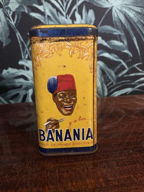 Boite Banania Tisane Ancienne 500grs