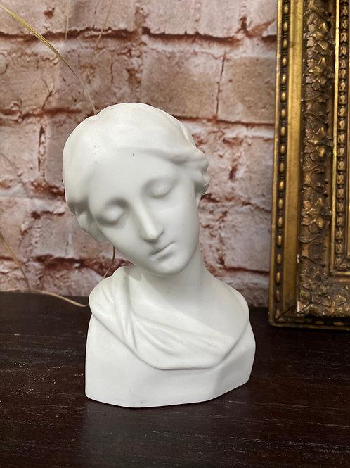 Buste en porcelaine LIMOGES J. TEISSONNIERE FRANCE Donatello