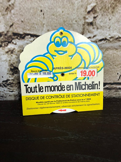 Disque de stationnement Michelin