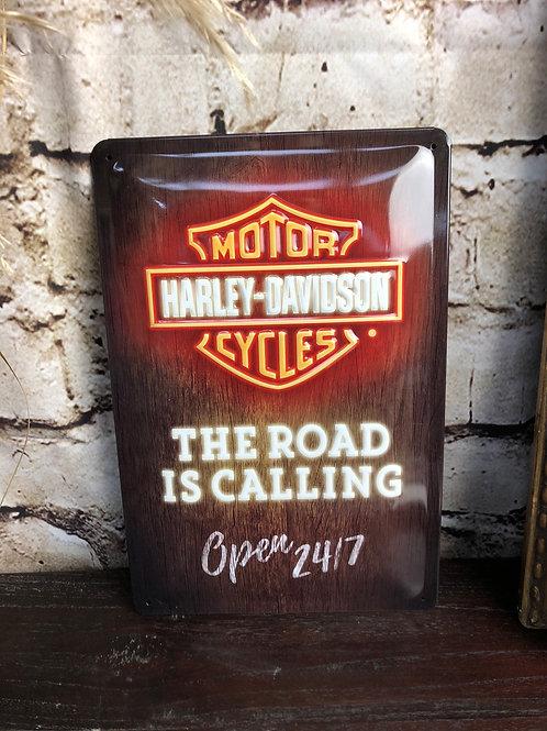 Plaque Harley-Davidson