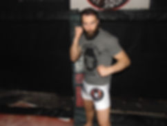 "UFC Fighter sponsored by Gorilla War Wear paul""bearjew"" craig"