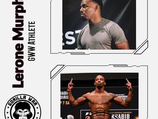 UFC sensation Lerone Murphy joins the Gorilla War Wear team!