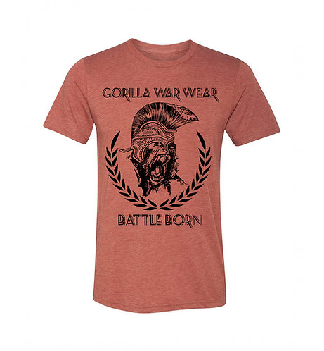 THE INVICTA BAMBOO BLEND T SHIRT - SCORCHED HEATHER
