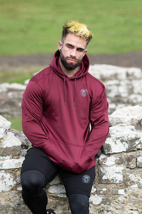 ICE DRY E-vAPE HOODIE - BLOOD RED