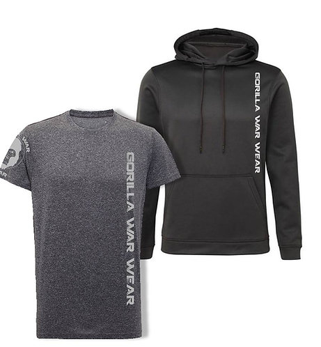 ICE DRY HOODIE + E-VAPE STEALTH SET - GREY FROST / BLACK CARBON