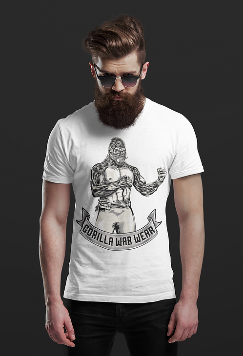 BARE KNUCKLE T SHIRT - OLYMPIA WHITE