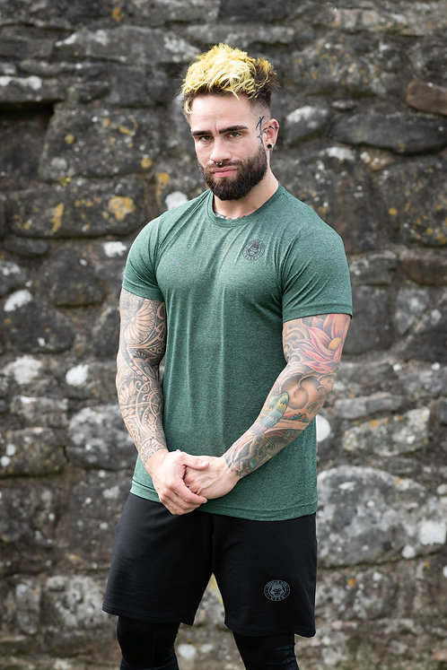 ICE DRY SHORT SLEEVE e-vAPE -EMERALD/BLACK STORM