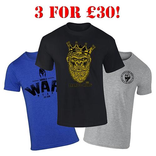 3 for £30 - BEARD=KING BUNDLE