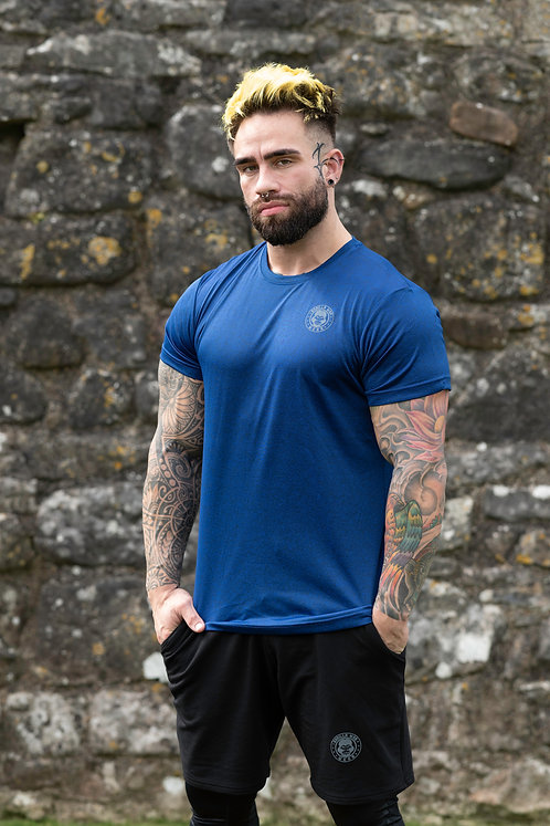 ICE DRY SHORT SLEEVE e-vAPE -BLUE/BLACK STORM