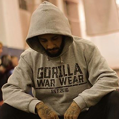 "MMA Fighter Part of UFC sponsored by Gorilla War Wear Saul ""The Hangman"" Rogers"