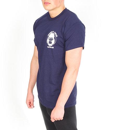 Gorillhouette T Shirt - Navy Blue