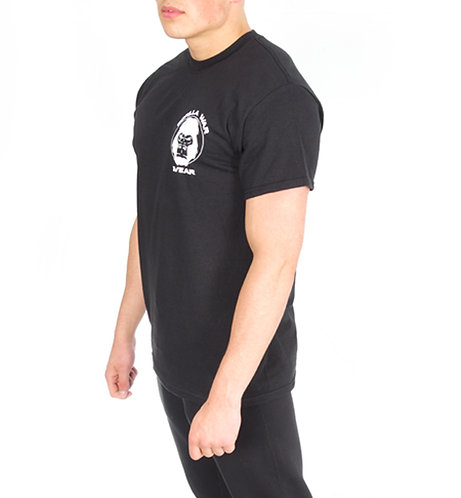 Gorillhouette T Shirt - Midnight Black