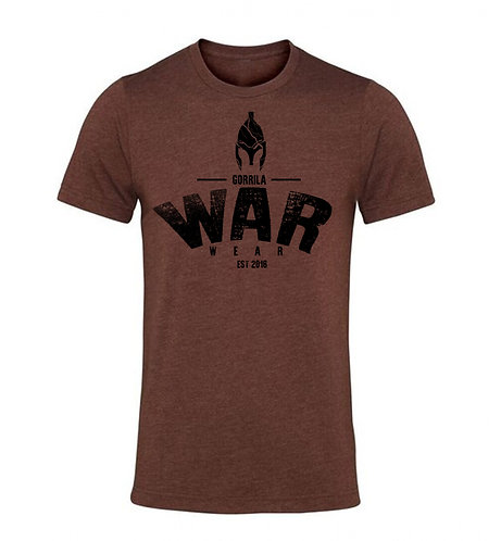 SPARTA BAMBOO BLEND T SHIRT -BURNT HEATHER COPPER