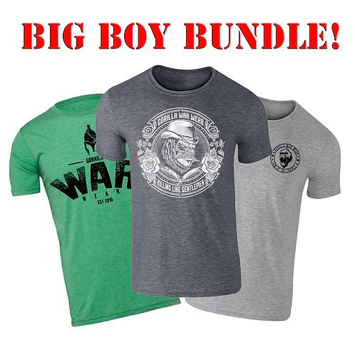 BIG BOY BUNDLE - 3 FOR £33!