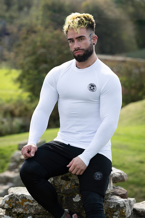ICE DRY  - GORILLA SKIN BASE LAYER - WHITE FROST